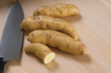 Russian Banana - Organic Seed Potatoes