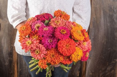 Jim Baggett's Choice Mix - Organic Zinnia Seed
